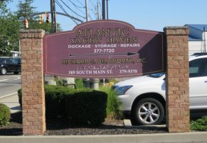 atlantic yacht haven sign